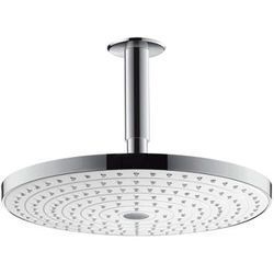 Hansgrohe Raindance S 300 2 Jet Shower Head & Arm (White & Chrome).