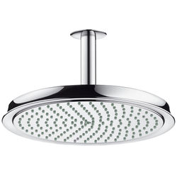 Hansgrohe Raindance Classic 240 1 Jet Shower Head & Arm (Chrome).