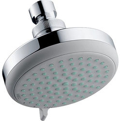 Hansgrohe Croma 100 Vario Shower Head With Pivot Joint (Chrome).