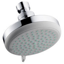 Hansgrohe Croma 100 Vario Shower Head With Pivot Joint (EcoSmart).
