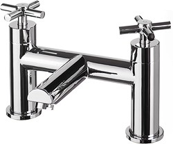 Hydra Coast Bath Filler Tap (Chrome).