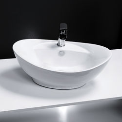 Oxford Oval Counter Top Basin 600x390mm (1 Tap Hole).