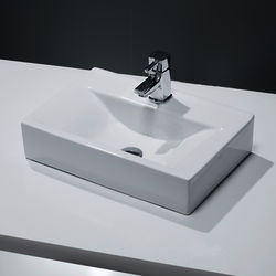 Oxford Wall Hung Or Counter Top Basin 450x305mm (1 Tap Hole).
