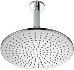 Hydra Showers 300mm Large Round Shower Head & Ceiling Mounting Arm.