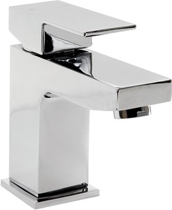 Hydra Lucca Mono Basin Mixer Tap With Click Clack Waste (Chrome).