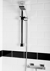 Hydra Norton Thermostatic Bar Shower Valve With Slide Rail Kit.