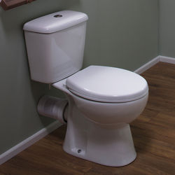 Oxford Unison Close Coupled Toilet With Cistern & Soft Close Seat.
