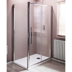 Oxford 1200x760mm Shower Enclosure With Sliding Door (8mm Glass).