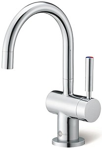 InSinkErator Hot Water Steaming Hot & Cold Filtered Kitchen Tap (Chrome).