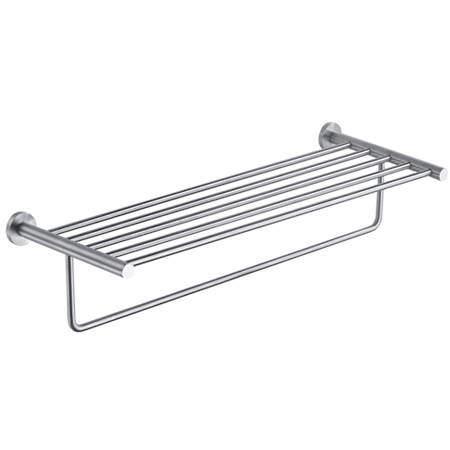JTP Inox Towel Shelf With Rail (643mm, Stainless Steel).