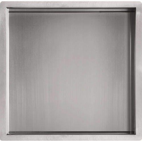JTP Inox Shower Niche (300x300mm, Stainless Steel).