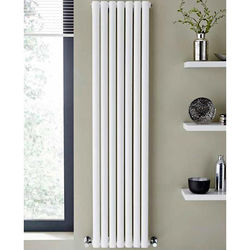 Kartell K-RAD Aspen Radiator 300W x 1800H mm (Double, White).