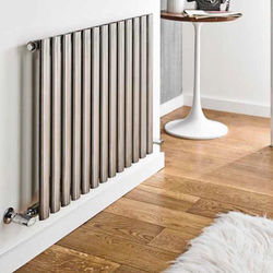 Kartell K-RAD Aspen Radiator 1000W x 600H mm (Single, Stainless Steel).