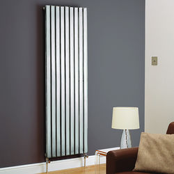 Kartell K-RAD Boston Vertical Radiator 550W x 1200H mm (Chrome).
