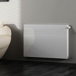 Kartell K-RAD Kompact Horizontal Radiator 1400x600mm (DC, White).