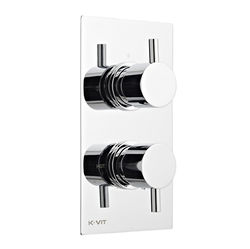 Kartell Plan Concealed Thermostatic Shower Valve (1 Outlet).