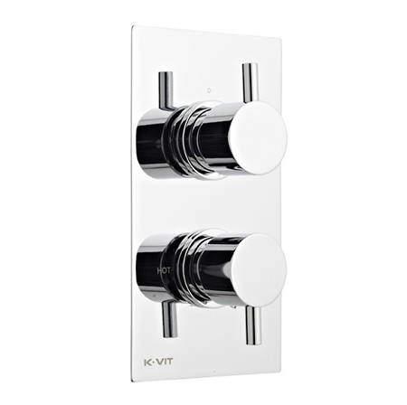 Kartell Plan Concealed Thermostatic Shower Valve (2 Outlets).