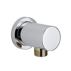 Kartell Shower Accessories Round Outlet Elbow (Chrome).