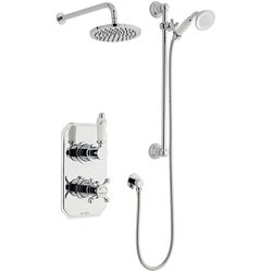 Kartell Viktory Shower Valve, Slide Rail Kit With Head & Arm (Option 3).