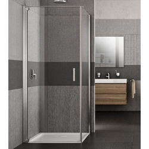 Lakes Italia Vivo Shower Enclosure With Pivot Door (700x800x2000mm, LH).