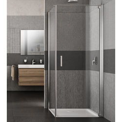 Lakes Italia Vivo Shower Enclosure With Pivot Door (700x800x2000mm, RH).
