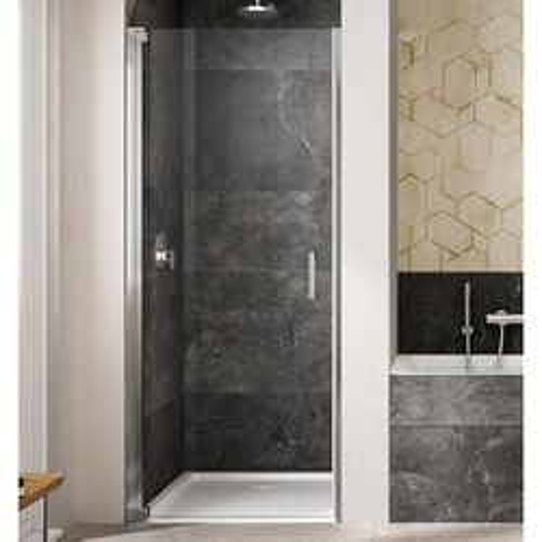 Lakes Italia Amare Semi-Frameless Pivot Shower Door (1000x2000mm, LH).