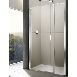 Lakes Italia Diletto Pivot Shower Door & In-Line Panel (1600x2000mm, LH).