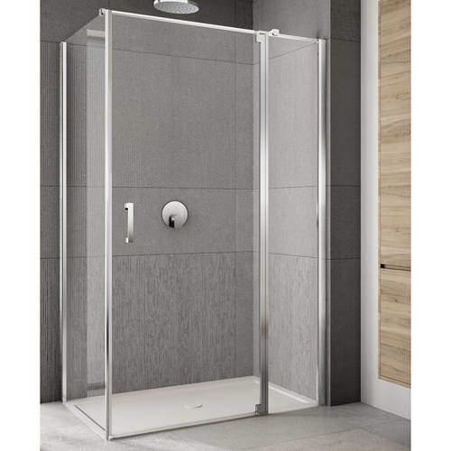 Lakes Italia Rilassa Shower Enclosure (900x900x2000mm, RH).