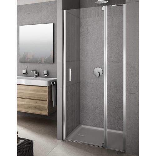 Lakes Italia Vivere Shower Door With In-Line Panel (1000x2000mm, RH).