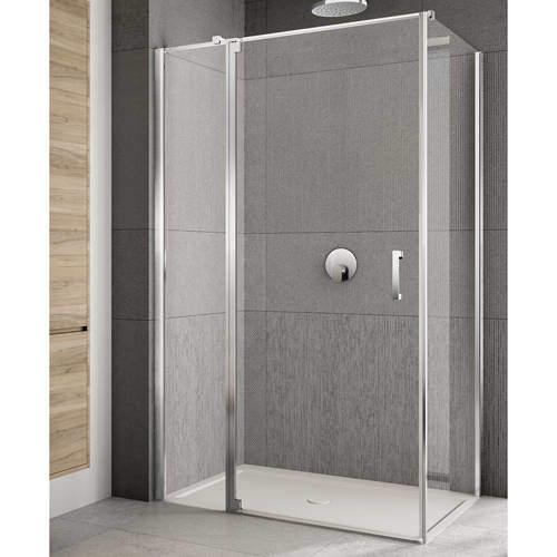 Lakes Italia Rilassa Shower Enclosure (1000x900x2000mm, LH).