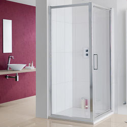 Lakes Coastline Narva Shower Enclosure With Pivot Door (900x700x2000).