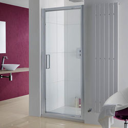 Lakes Coastline Narva Pivot Shower Door With 8mm Glass (900x2000mm).
