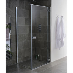 Lakes Island Grenada Frameless Shower Enclosure (900x750x2000).