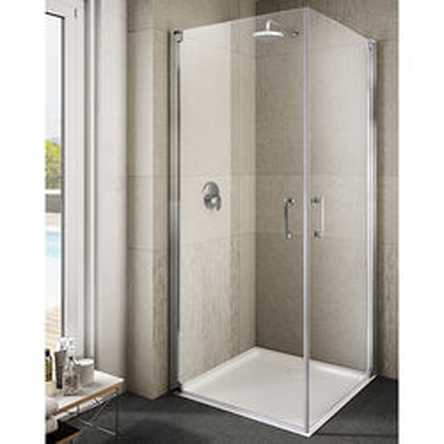 Lakes Italia Ritiro Semi-Frameless Square Shower Enclosure (700x700x2000).
