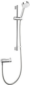Mira Agile Eco Exposed Thermostatic Shower Valve With Slide Rail Kit (Chrome).