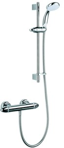Mira Coda Pro EV Thermostatic Bar Shower Valve With Slide Rail Kit.