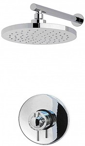 MX Showers Atmos Zone Shower Valve With Round Shower Head & Arm.