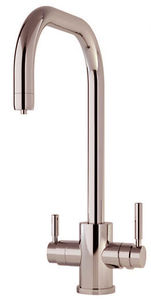 Perrin & Rowe Phoenix 3n1 Boiling Water Kitchen Tap (Nickel, U Spout).