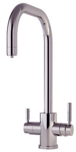 Perrin & Rowe Phoenix 3n1 Boiling Water Kitchen Tap (Pewter, U Spout).