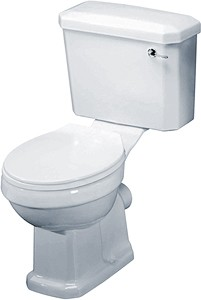 Crown Ceramics Carlton Traditional Toilet With Cistern & Seat.