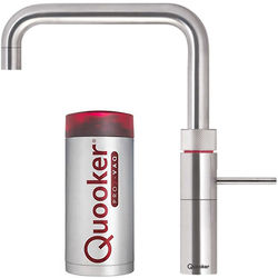 Quooker Fusion Square Boiling Water Kitchen Tap. PRO7 (Stainless Steel).