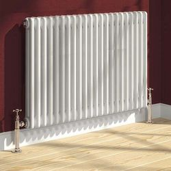 Reina Radiators Colona 2 Column Radiator (White). 600x785mm.