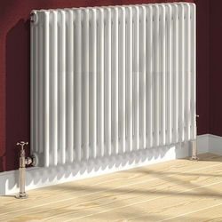 Reina Radiators Colona 4 Column Radiator (White). 600x605mm.