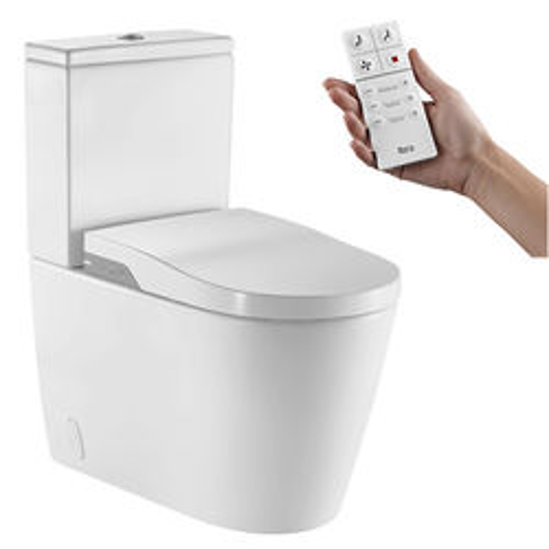 Roca Smart Toilets In-Wash Inspira Smart Close Coupled Toilet.