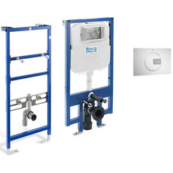 Roca Frames Basin & WC Frame With PL4 Dual Flush Panel (Combi).