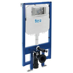 Roca Frames In-Wall DUPLO Compact Frame With Dual Flush Cistern.