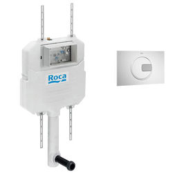 Roca Frames In-Wall Basic Compact Tank & PL4 Dual Flush Panel (Combi).