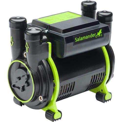 Salamander Pumps CT75 Xtra Twin Shower Pump (+ Head. 2.0 Bar).