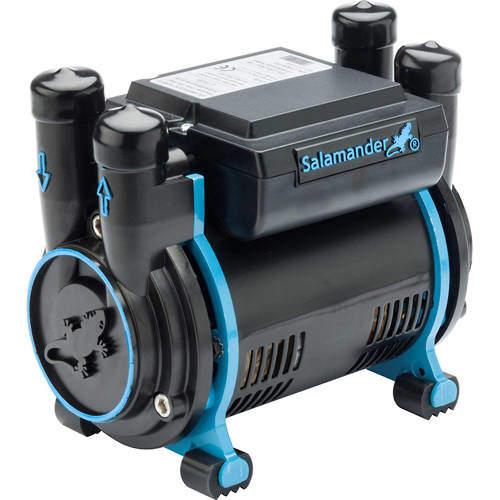 Salamander Pumps CT80B Bathroom Shower Pump (+ Head. 2.6 Bar).