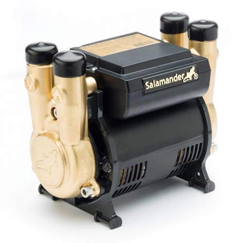 Salamander Pumps CTFORCE 20PT Twin Shower Pump (+ Head. 2.0 Bar).